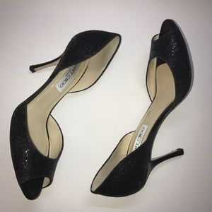 Jimmy Choo Peep Toe Heels Size 7.5